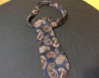 Vintage Christian Dior Monsieur Silk Tie