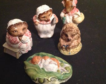 Beatrice Potter Figurines