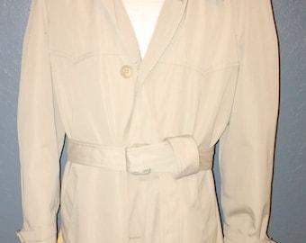 Vintage London Fog Trench Coat Size 40R