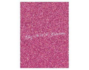 Glitter paper 280g - 20x30cm - pink