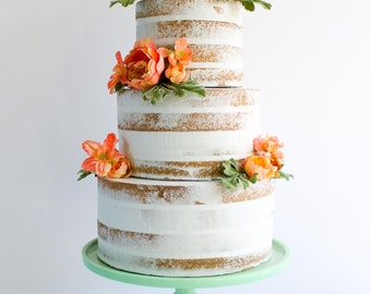 Naked Cake- Fake cake, prop cake, party decor