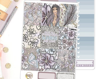 Wander Weekly Planner Sticker Kit for use in Erin Condren Life Planner Weekly Kit