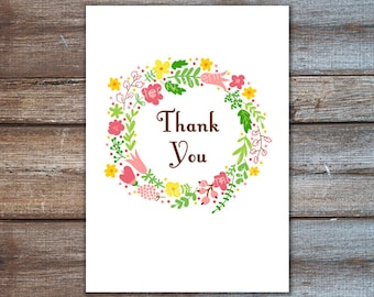 Thank you gift, quote print