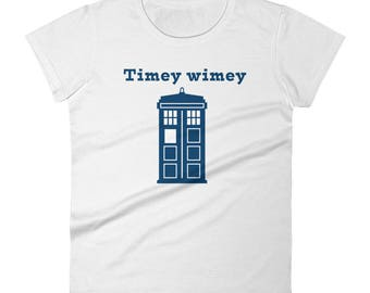 T.A.R.D.I.S- Doctor Who- Women's short sleeve t-shirt