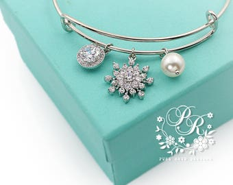 Snowflake bridesmaid Etsy