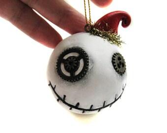 Steampunk ornament -  Christmas Ornament - Steampunk Decor