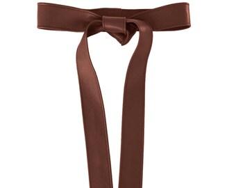 Waist belt Leather Belts for women Coat belts Fashion belts Women belt Mano Bello leather wrap belts Tobacco tan Handmade fashion designers