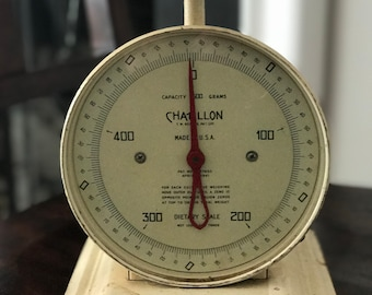 Vintage Scale, Country Kitchen Scale, Vintage Kitchen Scale, Chatillon Scale, Vintage Dietary Scale