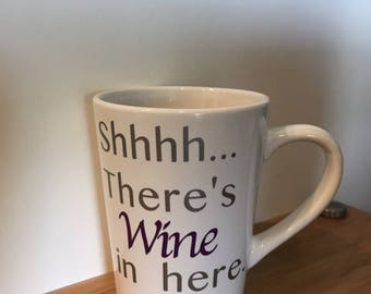 Shhhh....there's wine in here