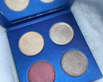Four Eyeshadows + Palette