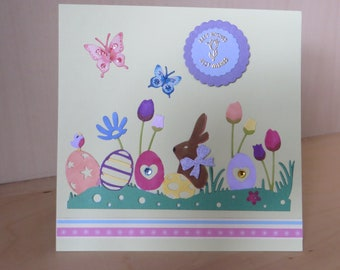 Easter Card Easter greeting card