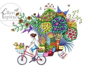 Tour de Plants - Medium Print