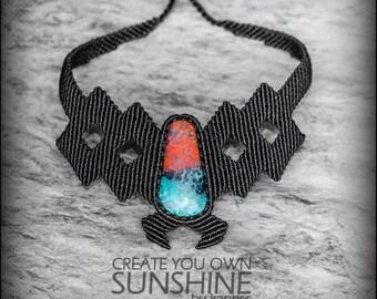 Sonora sunset Necklace Macrame