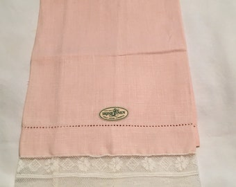 Vintage Linen Finger Tip Towel