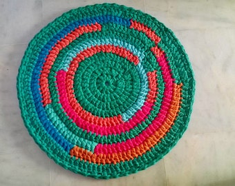 CARPET. HANDMADE. Recycled Cotton. Spring Carpet.