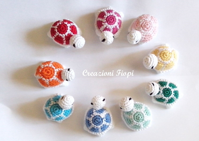 Amigurumi Turtle : Crochet pattern amigurumi turtle crochet turtle keychain