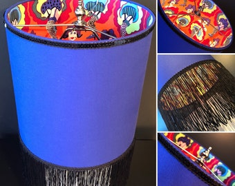 Handmade CanCan Dancer Lampshade