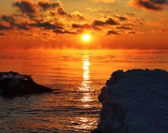 Dot The Sky near Lake Superior, Duluth, MN