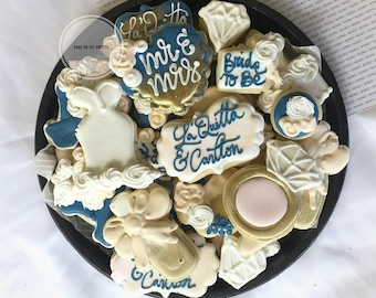 LOCAL ONLY Bridal- Wedding Cookies