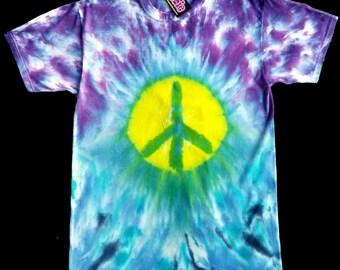 Peace Warrior Tie Dye