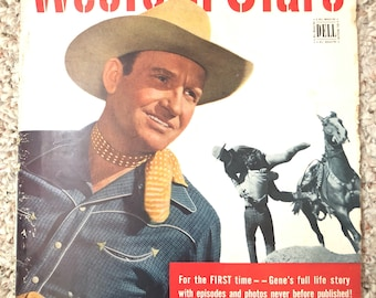 Western Stars Magazine Winter 1950 Salute to Gene Autry
