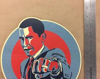 "Fist Bump Obama - 11"""