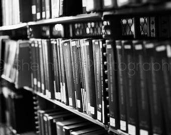 NY Photography - Library Book Photo - Book Photography - Book Lovers - Black and White NY Photography - NY Public Library - Book Photo Art