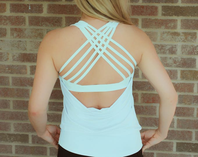 Featured listing image: Madeline cross back tank