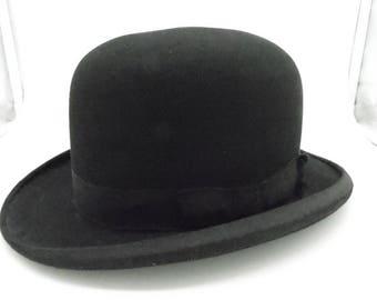 Vintage Bowler Hat 1930's