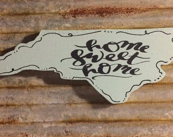 NORTH CAROLINA Magnet | Refrigerator Magnets | Fridge Magnets | State Magnets | Wooden Magnets | Kitchen Magnets