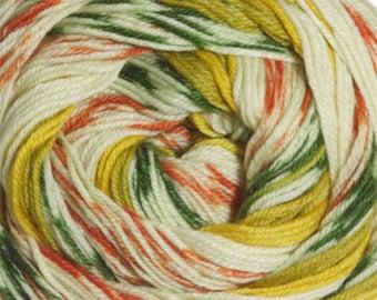 Autumn Cascade Heritage Prints Yarn 437 yards Super Fine Wool Nylon Sock Yarn Color 23