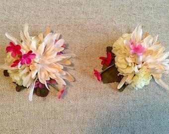 Pink Floral Pasties