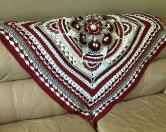 Unique handmade afghan