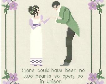 Jane Austen's No Two Hearts Sampler/ Persuasion