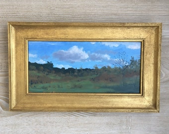 Plein Air Painting by Simon Parkes | Oil on Board | Painting