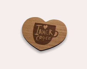 Black Coffee Coaster 262-414 (Set of 4)
