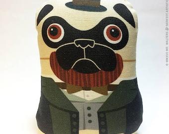 Abe Lincoln Pug - Small Pug-Guise Plush