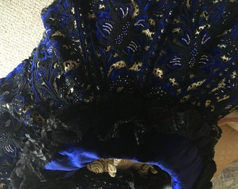 Amazing Victorian Cape for cutting