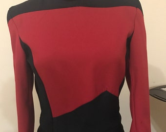 Star Trek Next Generation Third Season- 2 piece uniform