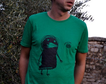 T-shirt the chicken that dreamed.. With the Moon