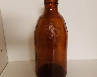 Vintage Anheuser Busch Brown Beer Bottle