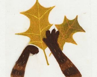 Original, La ronde des mois, leaves