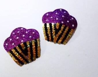 Cupcake nipple pasties burlesque / stripper / showgirl