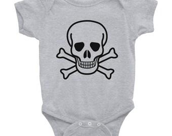 Infant Skull Onesie