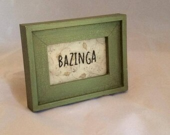Bazinga Embroidery