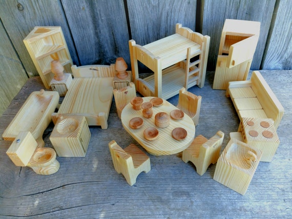 Like this item? & Wooden furniture. Montessori waldorf toys. Christmas gift.
