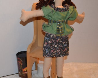 One Of A Kind Faceless Cloth Doll