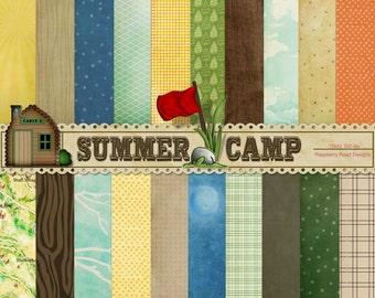 Summer Camp Paper Set