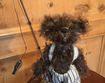 SCRUFFY DUFFY: a handmade artist teddy bear from Jazzbears