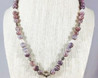 Agate & Lotus Jewelry Set